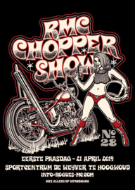 2019/04, 21 apr. - 28th Choppershow Rogues MC