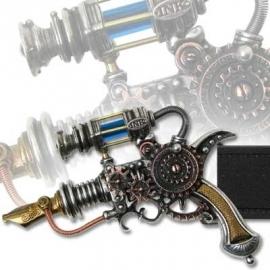 Belt Buckle - Alchemy - Tattoo Machine - Empire-Remington Patent Dermal Inducer
