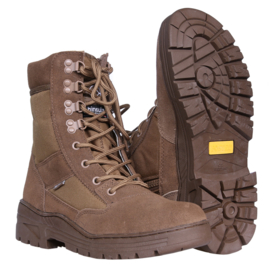 Sniper/Combat Boots - Coyote - Leather & 3M Breathing DeLuxe (Zipper)