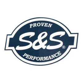 "S&S - Proven Performance - Racing 6""- DECAL - STICKER"