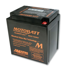 Motobatt Battery MBTX30UHD, Black Housing, 4-Ports - TOURING