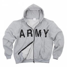 Track jacket - ARMY - Zipped Hoodie [Free Pants incl]