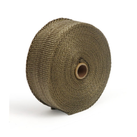 "EXHAUST INSULATING WRAP. 2"" WIDE COPPER"