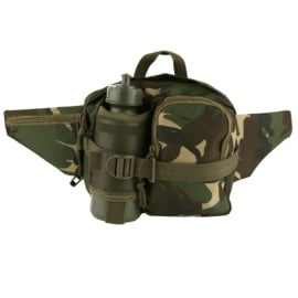 Hip bag with waterbottle - Black or Camouflage