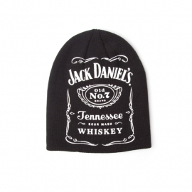 Jack Daniels - Beanie with big logo