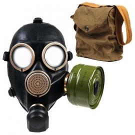 GasMask - BLACK - with bag & filter - GP7 - Only EU customers