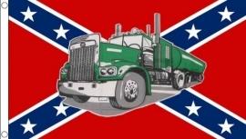 Flag - The Green Truck / Rebel Flag