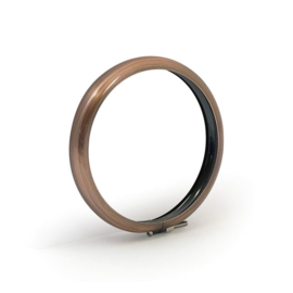 "Copper Trim Ring for 4 1/2"" lamp"