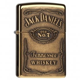 Zippo - Jack Daniel's® - Brass Logo 3D