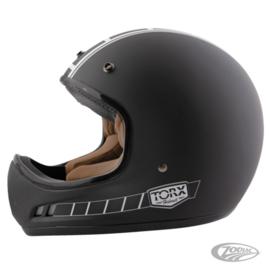 Brad Style Helmet - ECE 2205 Homologated - Black