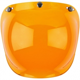 Biltwell Jet - Bubble Visor - Amber - Bubble Shield