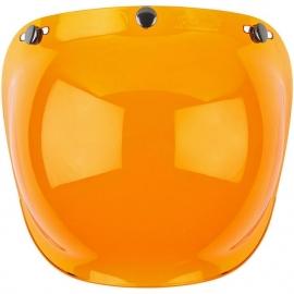 Biltwell Jet - Bubble Visor - Amber - Bubble Shield - ANTI FOG