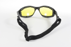 Sunglasses - Kickstart - Freedom - Yellow/Black by KD's