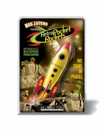 RETRO POCKET ROCKET - Man Eaters from Outer Space (Yellow)