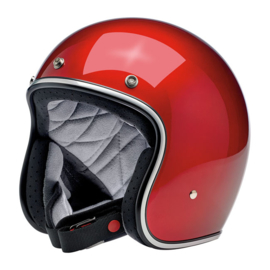 BiltWell Bonanza Helmet - Gloss Candy Red (DOT)