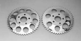 REAR SPROCKET, CHROME. 48T  Harley-Davidson FXR & More