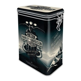 Harley-Davidson - Tin Aroma Box - Things are different on a Harley