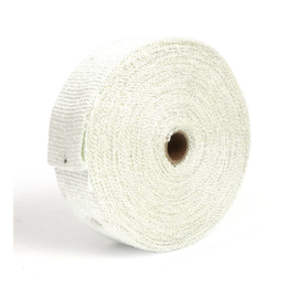 "EXHAUST INSULATING WRAP. 2"" WIDE WHITE"
