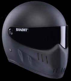 Bandit XXR - Flat Black - Integraal Helm