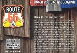 Route66, wie kent hem niet?