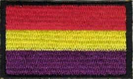 021 - Patch - Small - Spanish REPUBLIC Flag Spain - La Republica España