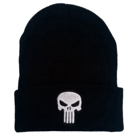 Beanie - The Punisher - Commando - WHITE