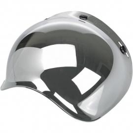 Biltwell Jet - Bubble Visor - Chrome Mirror / Smoke Tint