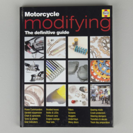 Book - HAYNES MOTORCYCLE MODIFYING