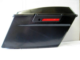Vivid Black Latch Covers for Harley-Davidson