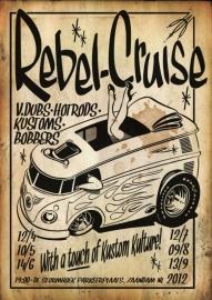 Zaandam - Rebel Cruise - elke 2e donderdag van de maand
