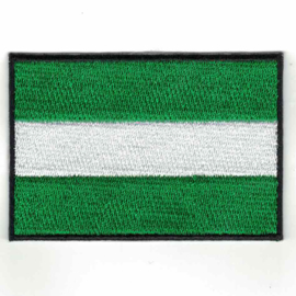 PATCH - Flag of ROTTERDAM - the Netherlands - World harbour NL