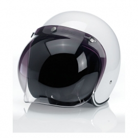 Biltwell Jet - Bubble Visor - Dark Grey / Smoke - Bubble Shield