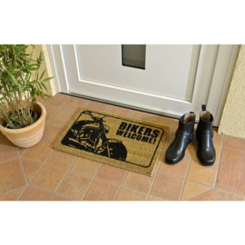 Bikers Welcome - Door Rug - V-Rod - Harley-Davidson