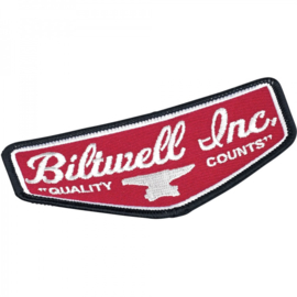 Patch - Biltwell Shield - Red