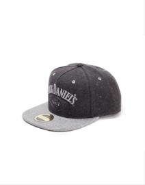 Jack Daniels - Snapback - Adjustable Cap - Tweet Look - Dark Grey Washed