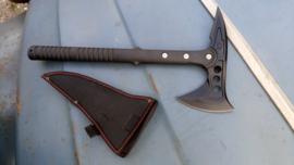 Axe - Black,  War Wolf - Coldsteel Design - 2 sided