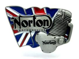 B104 - Belt Buckle - Norton Motorcycles