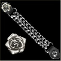 Vest Extender - Pair of Roses (2 pieces)