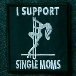 185 - Patch - I Support Single Moms