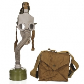 GasMask - Grey - with bag & filter - XXS-XS - Children