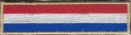 PATCH - Dutch Flag Stick - Nederland - Holland