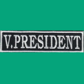 PATCH - stick - function / flash - V. PRESIDENT - vice