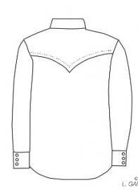 Black Leather MC-Shirt - SOA - 3XL - Demo