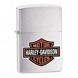 Harley-Davidson Zippo - Brushed Chrome