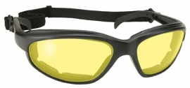 Sunglasses - Kickstart - Freedom - Yellow/Black by KD's