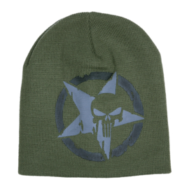 Beanie - The Punisher - Commando - Star - Green