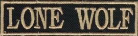 291 - PATCH - LONE WOLF - Stick
