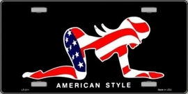 FP120 - Funny Plate - American Style