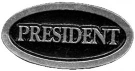 Metal Pin - President
