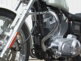 Fehling Crash Bars - All Harley-Davidson Sportster Models up to 2004